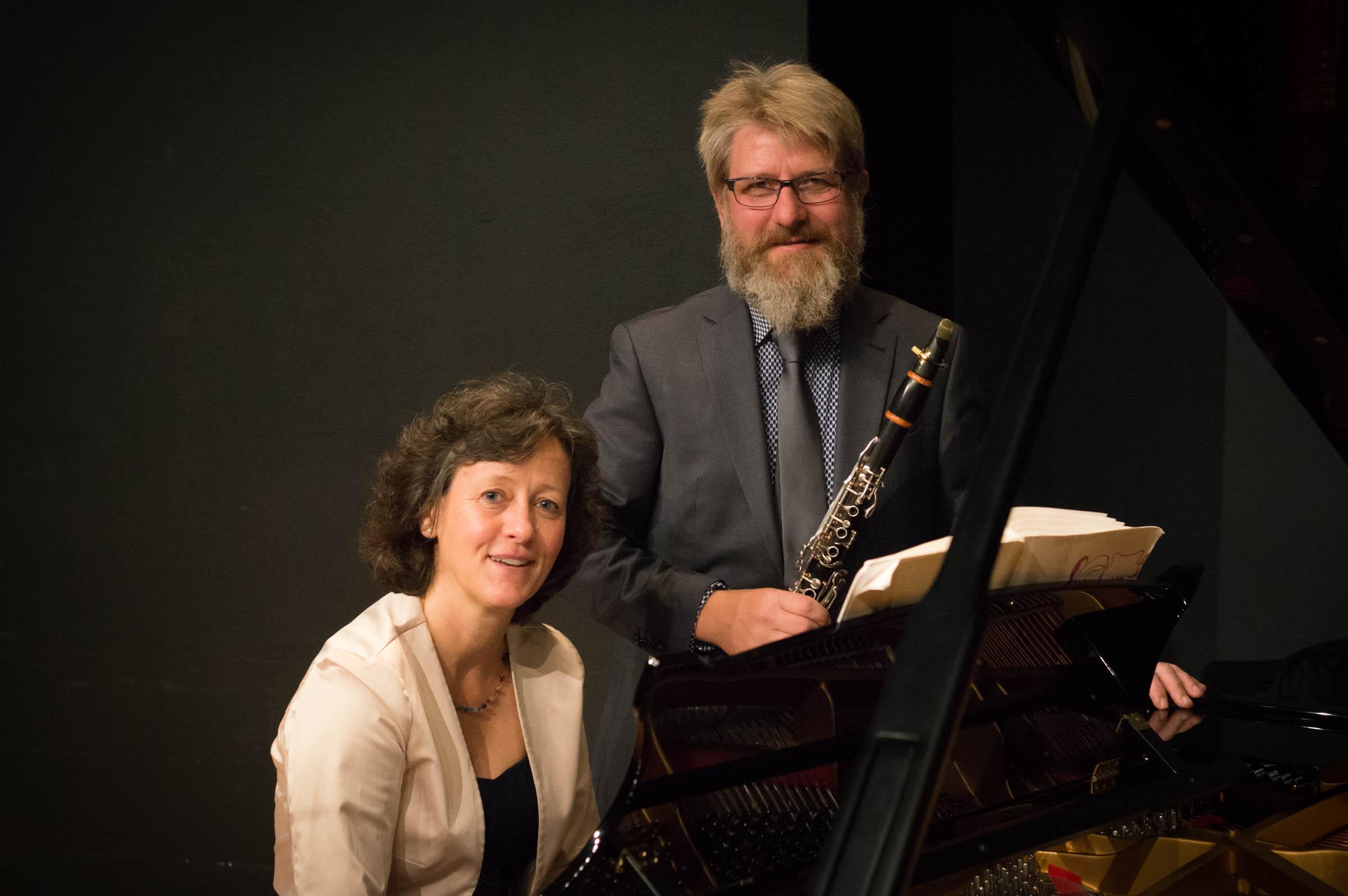Duo Petra Menzel (Klavier) und Dirk Altmann (Klarinette)
