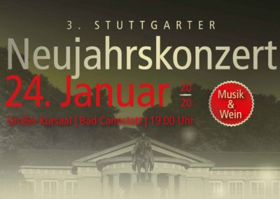 Neujahrskonzert im Kursaal Bad Cannstatt